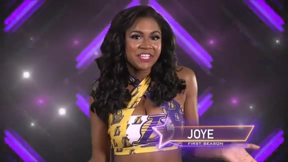 Laker Girl Profile - Joye