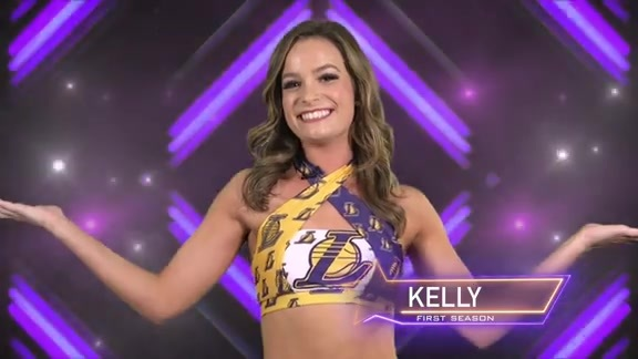 Laker Girl Profile - Kelly
