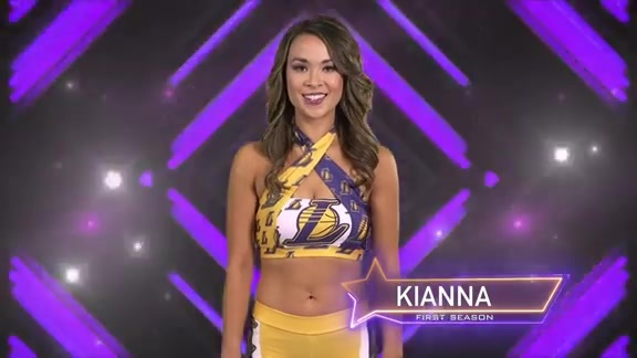 Laker Girl Profile - Kianna