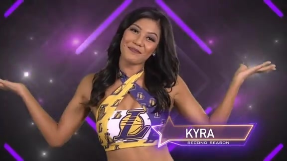 Laker Girl Profile - Kyra