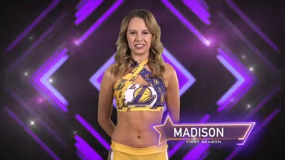 Laker Girl Profile - Madison