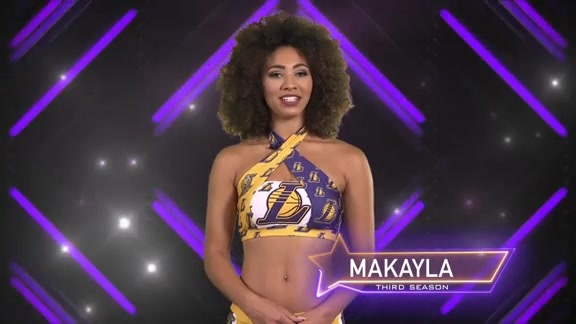 Laker Girl Profile - Makayla