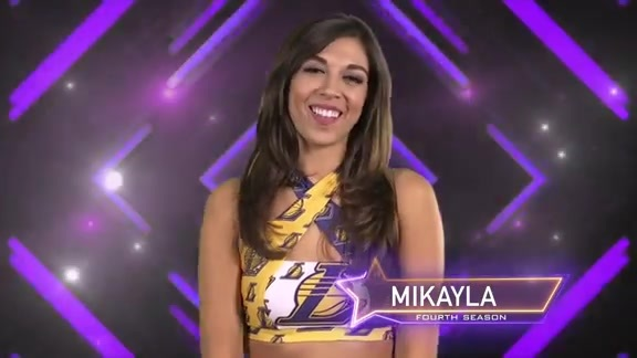 Laker Girl Profile - Mikayla