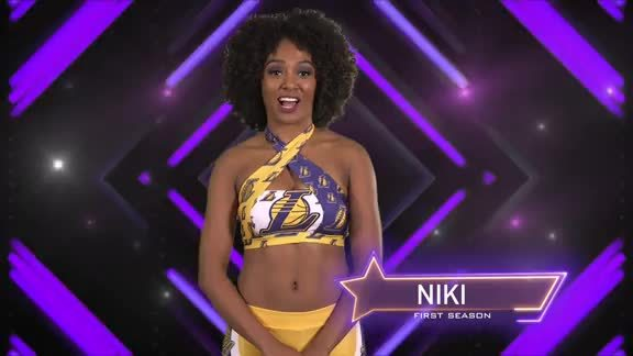 Laker Girl Profile - Niki