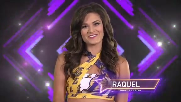 Laker Girl Profile - Raquel