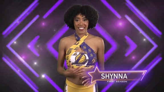 Laker Girl Profile - Shynna