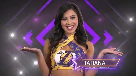 Laker Girl Profile - Tatiana