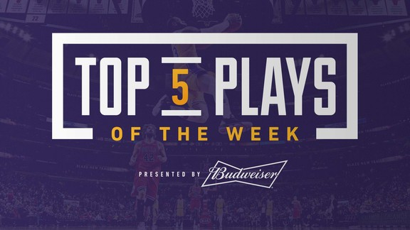 Top 5 Plays of the Week (3/18/19)