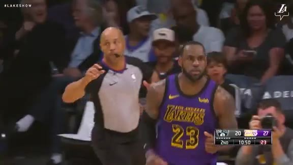 LeBron's Steal and Slam