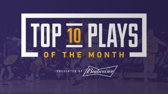 Top 10 Plays of the Month (March 2019)