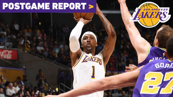 Postgame Report: Lakers Ride KCP's Hot 4th Quarter to Win Over Jazz