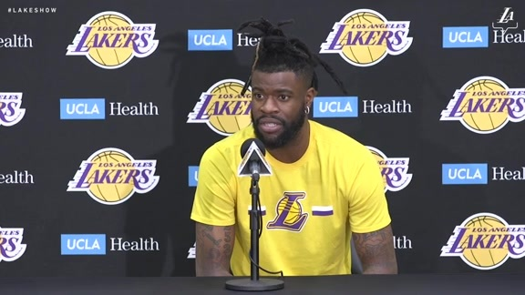 2019 End of Season Interview: Reggie Bullock