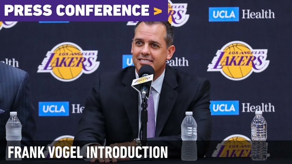 Frank Vogel Introductory Press Conference