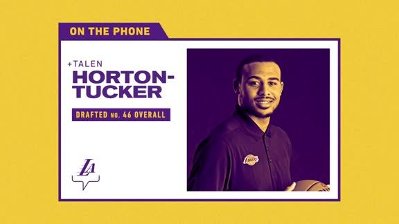 Conference Call: Talen Horton-Tucker