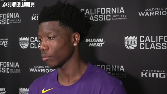 Summer League Report: Devontae Cacok (7/2/19)