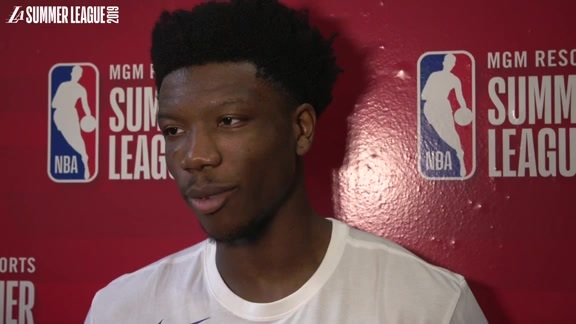 Summer League Postgame: Devontae Cacok (7/5/19)