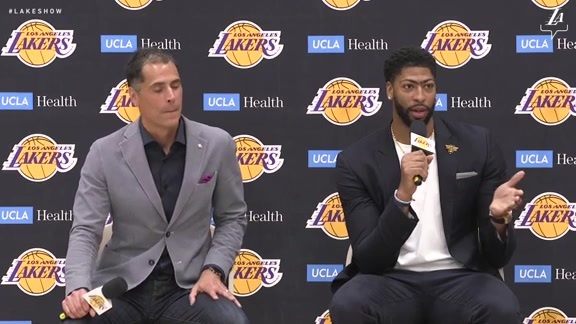 Anthony Davis Introductory Press Conference