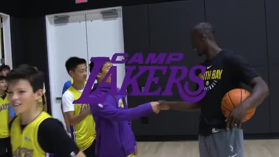 Camp Lakers 2019 – Andre Ingram