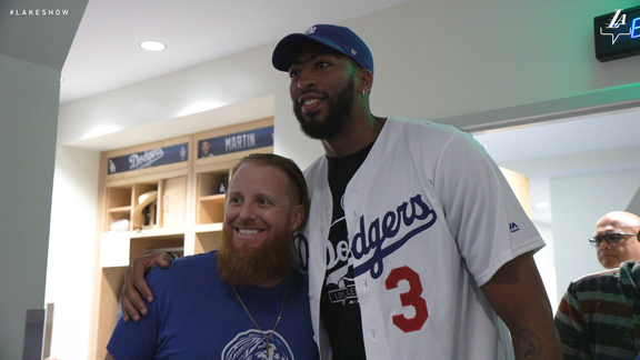 Anthony Davis Meets the Dodgers