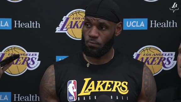 Training Camp: LeBron James (9/28/19)