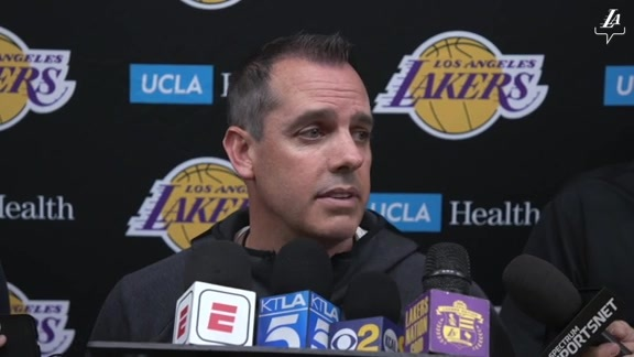 Training Camp: Frank Vogel (9/28/19)