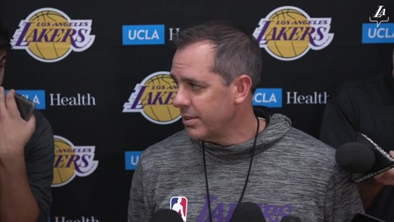 Training Camp: Frank Vogel (10/1/19)