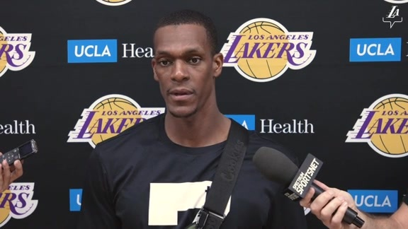 Training Camp: Rajon Rondo (10/3/19)