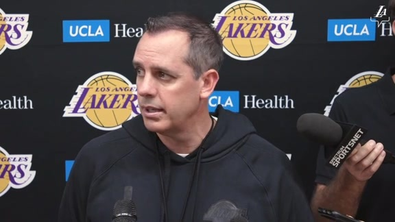 Training Camp: Frank Vogel (10/3/19)