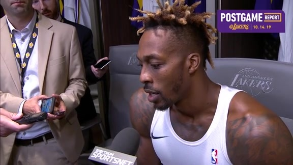 Postgame: Dwight Howard (10/14/19)