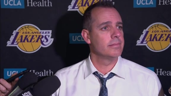 Lakers Postgame: Frank Vogel (10/22/19)