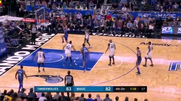Mario Hezonja Takes Flight