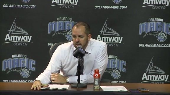 Frank Vogel: Wolves Postgame Press Conference