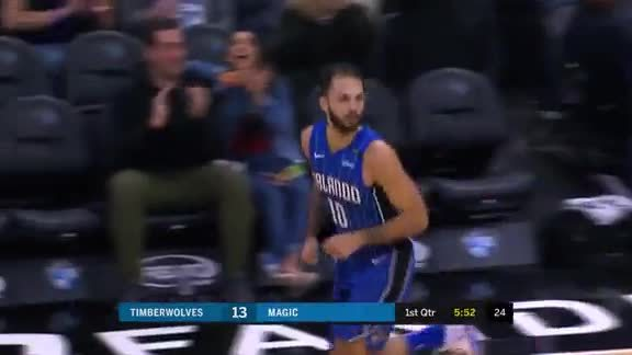 Evan Fournier Erupts for Career-High 32 Points