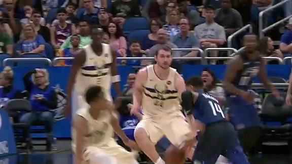 Play of the Day: Augustin Breakin' Ankles