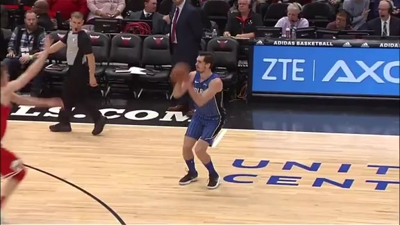Mario Hezonja Shows Off His Range