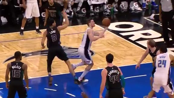 Hezonja Hits The Spin Cycle
