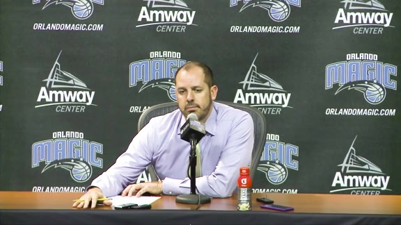 Frank Vogel: Hornets Postgame Press Conference