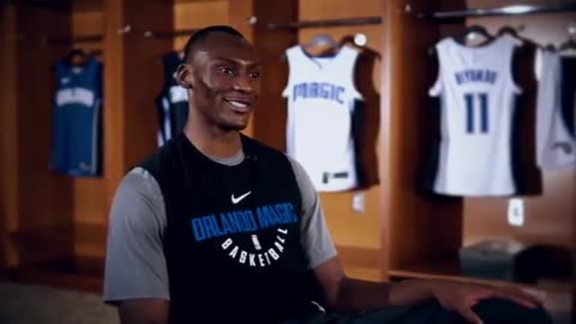 On the Floor: Bismack Biyombo