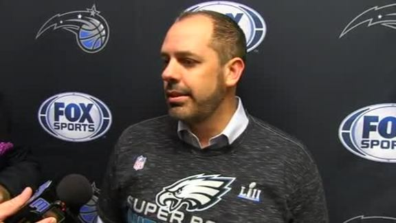 Magic on Matchup with Sixers