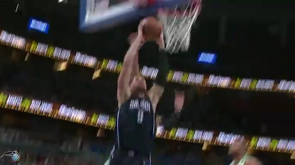 Vucevic's Two-Handed Slam