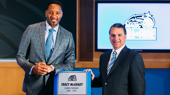 T-Mac's Magic HOF Induction Ceremony