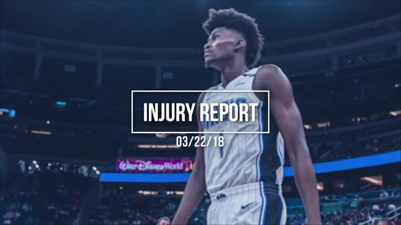 Injury Update: Jonathan Isaac
