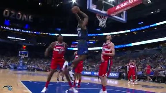 Bismack Biyombo Rocks the Rim