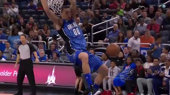 Aaron Gordon's Top 10 Plays of 2017-18