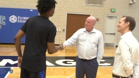 All-Access: Magic Hire Steve Clifford