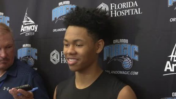 Magic Draft Workouts: Anfernee Simons