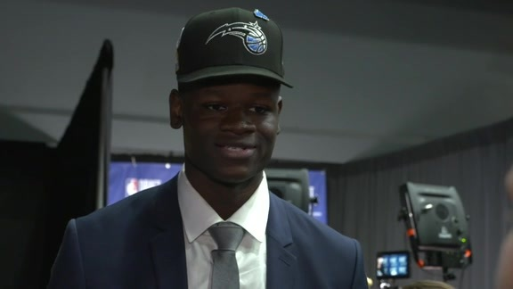 Mo Bamba's Post-Draft Interview