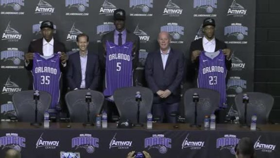Press Conference: Magic's 2018 Draft Class