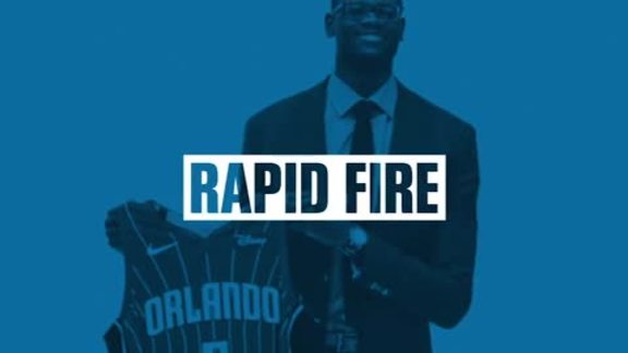 Rapid Fire: Mo Bamba