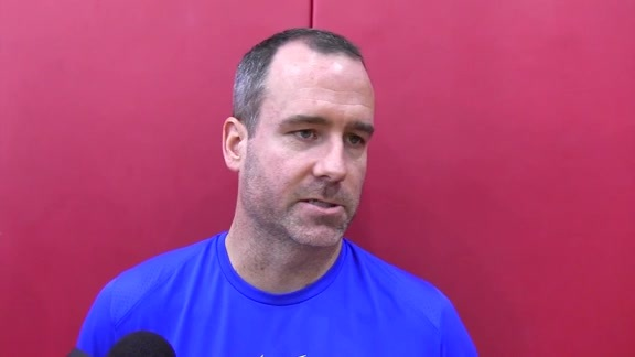 Pat Delany: Summer League Practice